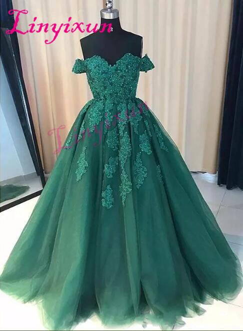 Real Picture New Arrival Formal Evening Party   Dresses   Wear Off the Shoulder Zipper Back Long   Prom     Dresses   with Bead