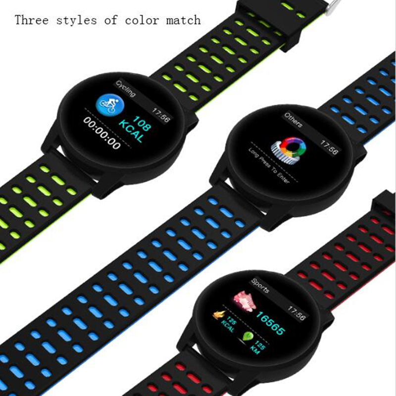 Bluetooth Smart Watch men and women passometer call/message reminder Smartwatch for Android and IOS waterproof ip67 sports step