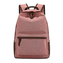 Korean Large Capacity Fashion Backpacks Women School Bags For Teenagers Men Travel canvas Bags Girls High quality Backpack(China)
