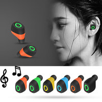 NEW Q17 Twins Wireless Earphones With Microphone Sport Stereo Bluetooth 4 2 Handsfree Headset In Ear