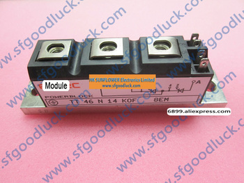 TT46N14KOF tyrystor kontroli kolejności faz moduł 1400 V 46A tanie i dobre opinie Fu Li