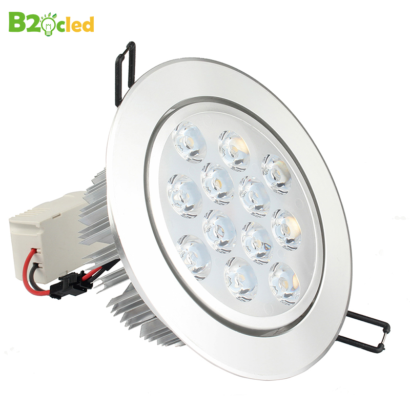 Free Shipping 3w-25w Warm White/natural White/cold White Led Ceiling Recessed Grid Downlight Slim Round Panel Light Drive