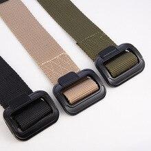 Military Tactical Belt Men Equipment SWAT Belt Combat Training Army Outdoor Sport Nylon Waist Belt Survival Rigger Waistband