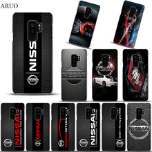 Phone case for Samsung Galaxy S10 5G S10plus S10lite S9 S9plus S8plus Cool Car logo NISSAN series clear Hard cases for S7 S6 S5(China)