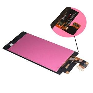 Image 4 - Per Sony Xperia M5 LCD display originale per Sony Xperia M5 A CRISTALLI LIQUIDI di tocco digitale dello schermo di E5603 E5606 E5653 del telefono mobile accessori