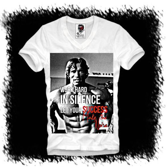 bd6e3321 Detail Feedback Questions about E1SYNDICATE V T SHIRT ARNOLD SCHWARZENEGGER  MUSCLE BEACH GYM PUMPING IRON 1808v Casual Plus T Shirts Style Tops Tee  Size S ...