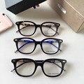 2016 THOM BROWNE moda espectáculo Marcos de Las Lentes gafas de Nueva York Marca Marco Óptico Gafas De Grau TB405 Alta calidad