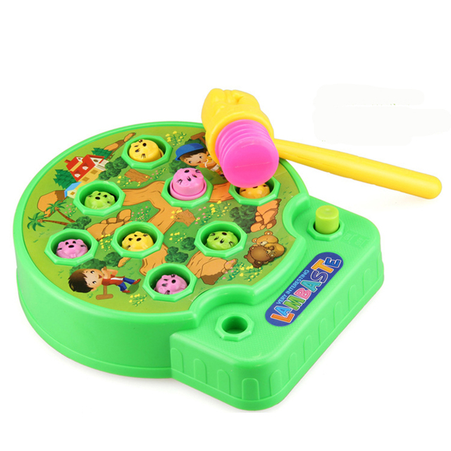 Electric Children Toys Whac-A-Mole Interactive toys Interactive Game with Sound Preschool Toddler Toys Electronic Creative Gift