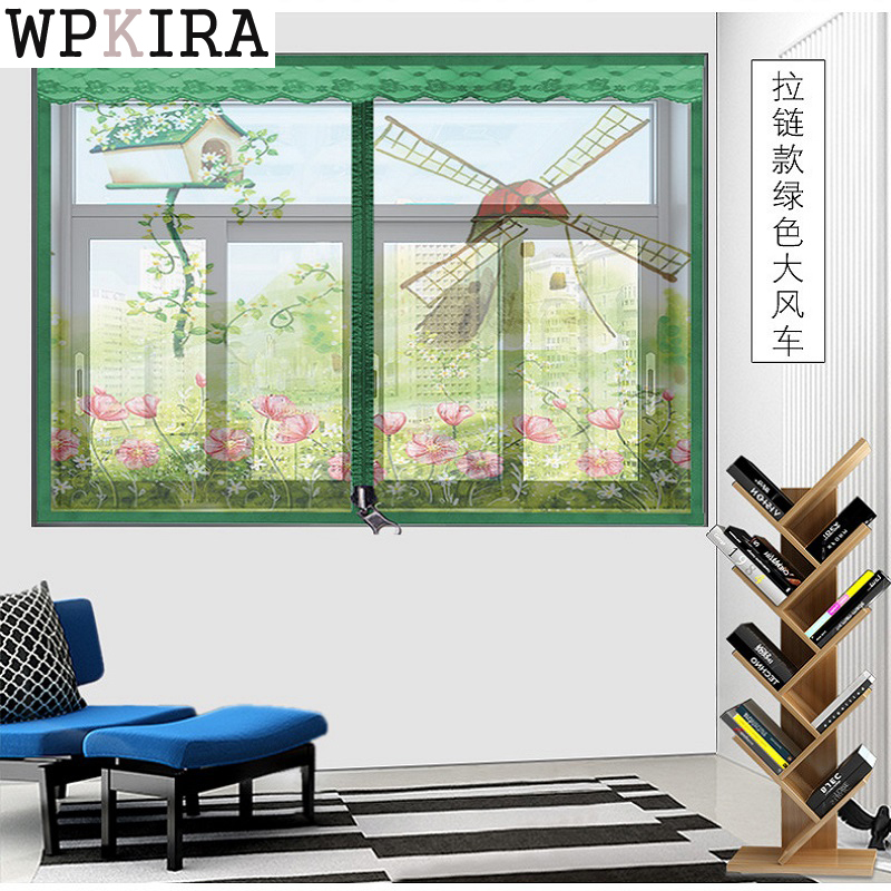 Hight Quality Summer Anti-mosquito Mesh Door Magnet Mosquito Net Curtains Tulle Soft Screen Door Moustiquaire  S167&20