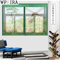 8 Colors Magnet Mosquito Net Summer Anti Mosquito Mesh Curtains Soft Yarn Door Tulle Window Screen