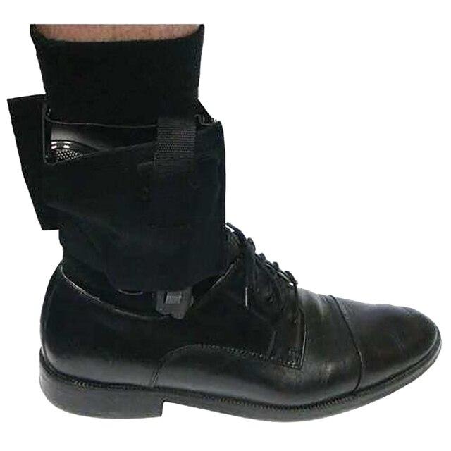 Universal Adjustable Concealed Tactical Black for Carry Ankle Leg Pistol Gun Holster Hunting EDC Tactical Leg Ankle Holster