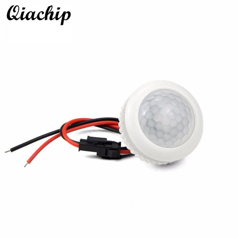 QIACHIP 220V PIR Motion Sensor Switch ON OFF IR Infrared Human Body Induction Sensor Light Control Detector Module For LED Lamp sensor automatic light lamp ir infrared motion control switch energy saving y103
