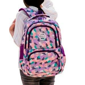 Image 2 - 2020 heiße Neue Kinder Schule Taschen für Jugendliche Jungen Mädchen Große Kapazität Schule Rucksack Wasserdichte Satchel Kinder Buch Tasche Mochila