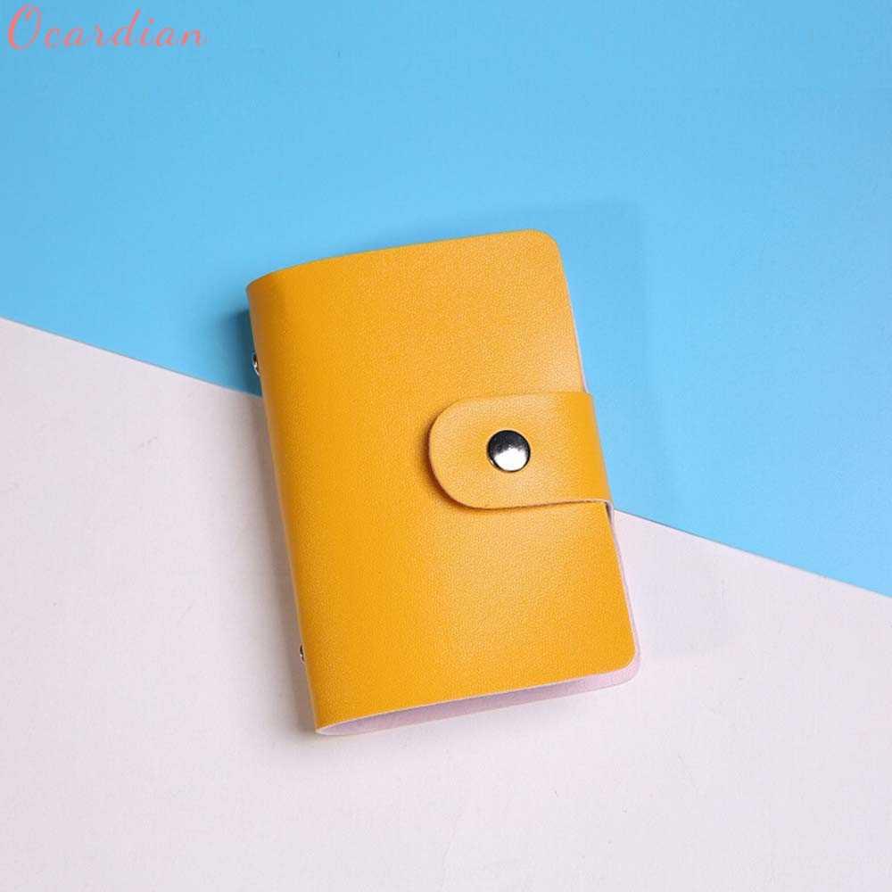 Сказочный мужской женский кожаный держатель для кредитных карт чехол держатель для карт бумажник для визиток 322510 #418