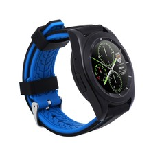 Neue original no. 1 g6 smart watch mtk2502 metall runden bildschirm Smartwatch Herzfrequenz für Geschäftsleute für Android IOS Telefon no. 1