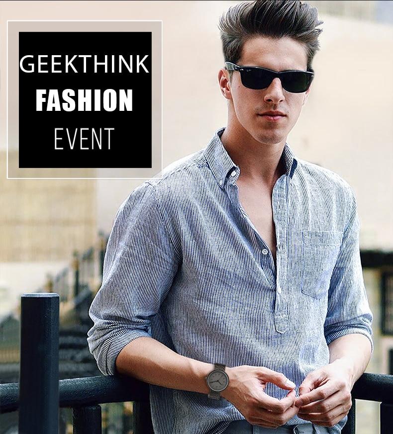 083a8ed1682d 2017 Fashion Trends Watch Men Luxury Brand Quartz Watches Minimalist Style  Fine Mesh Strap Wristwatch Japan Movement Watch - us125