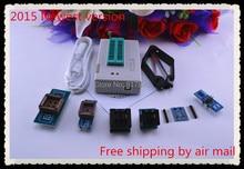 Free Shipping 2017 100% genuine V6.6 MiniPro TL866A Programmer USB Universal Bios Programmer+7 pcs items