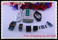 Free Shipping 2015 Newest Version V6 1 MiniPro TL866A Prgrammer USB Universal Programmer Bios Programme 7