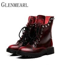 Genuine Brand Mid-Calf Boots