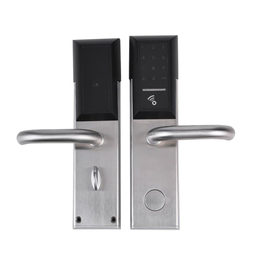 Bluetooth Security Entry Door Lock Electronic Combination Password Door Lock Digital Smart Code Locker with CardBluetooth Security Entry Door Lock Electronic Combination Password Door Lock Digital Smart Code Locker with Card