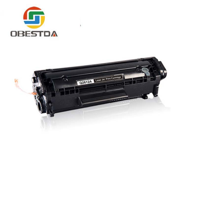 Obestda Q2612A q2612 12a 2612 toner cartridge compatible for HP <font><b>LaserJet</b></font> <font><b>1010</b></font> <font><b>1012</b></font> <font><b>1015</b></font> <font><b>1020</b></font> 3015 3020 3030 3050 <font><b>1018</b></font> <font><b>1022</b></font> <font><b>1022</b></font> image