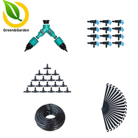 30m 4/7mm Automatic Watering Flowers Plant Irrigation Suits Garden Irrigation System Micro Irrigation Equipment Watering Kits