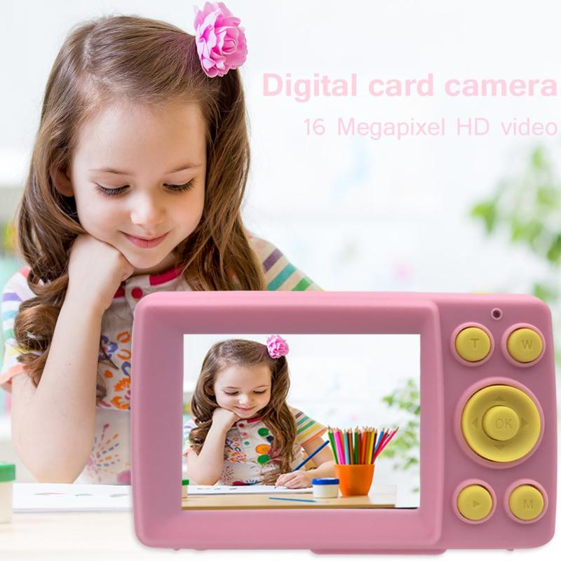2 Inch HD Screen Waterproof Children Mini Camera Mini Digital Cute Camera For Kids  Smart Shooting   Function Toy Cameras Gifts
