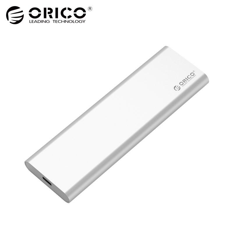 ORICO 2 Bay SSD Boîtier Type-C USB3.1 10 Gbps Gen2 M SATA SDD Soutien Raid 0 PM 2 tb 4 tb Max Compatible avec Windows/Linux/Mac