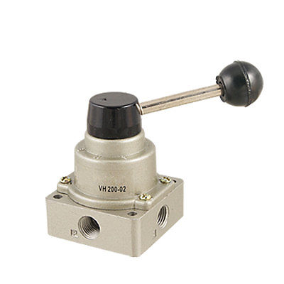 Air Flow VH200-02 3 Positions 4 Ways Hand Rotary Valve manual valve vh200 02 hand turn valve vh 02 pneumatic hand valve hand valve switch