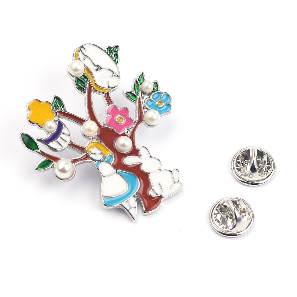 Jewelry Sets & More New Design Fashion Repellent Funny Cleaning Enamel Brooch For Women Girls Badge Lapel Pin Jewelry Gifts Various Styles