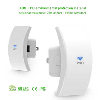 Wavlink 802.11b/g/n Wireless Wifi Repeater 300Mbps Mini Wi-Fi Signal Amplifier Repetidor Range Booster 2.4G Network Antenna /WPS