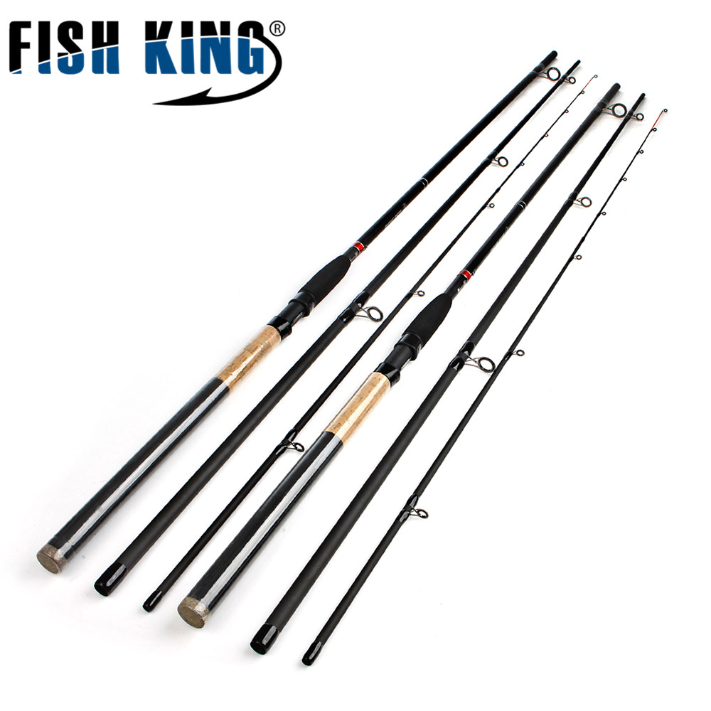 FISH KING Feeder High Carbon Super Power 3 Sections 3 6M 3 9M Lure Weight 40