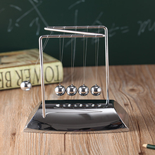Z-shaped pendulum ball teaching supplies metal ball touch beads physical energy conservation science Boutique Decoration