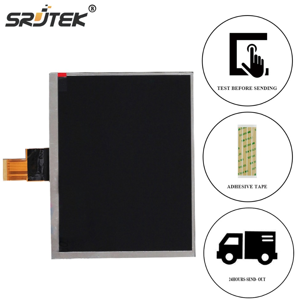 Srjtek New LCD Display 8 For Digma iDxD8 3G IDxD 8 Tablet TFT LCD Screen Display Lens Glass Digital Panel Screen Replacement new 8 inch replacement lcd display screen for digma idsd8 3g tablet pc free shipping