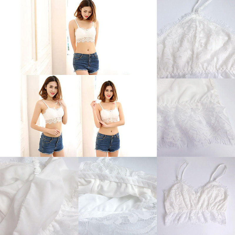 Free size Solid nylon sex lady straps lace tube tops Senoras del sexo de nylon solido correas tops de tubo de encaje
