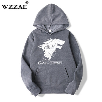 Game of Thrones Fashion Streetwear Hoodies Autumn New Arrival Winter Fleece Raglan