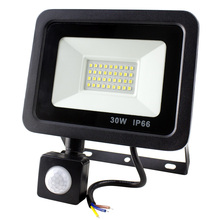 LED Flood Light 10W 20W 30W 50W Floodlight IP66 Waterproof 220V Spotlight Refletor Outdoor Lighting Wall Garden Lamp
