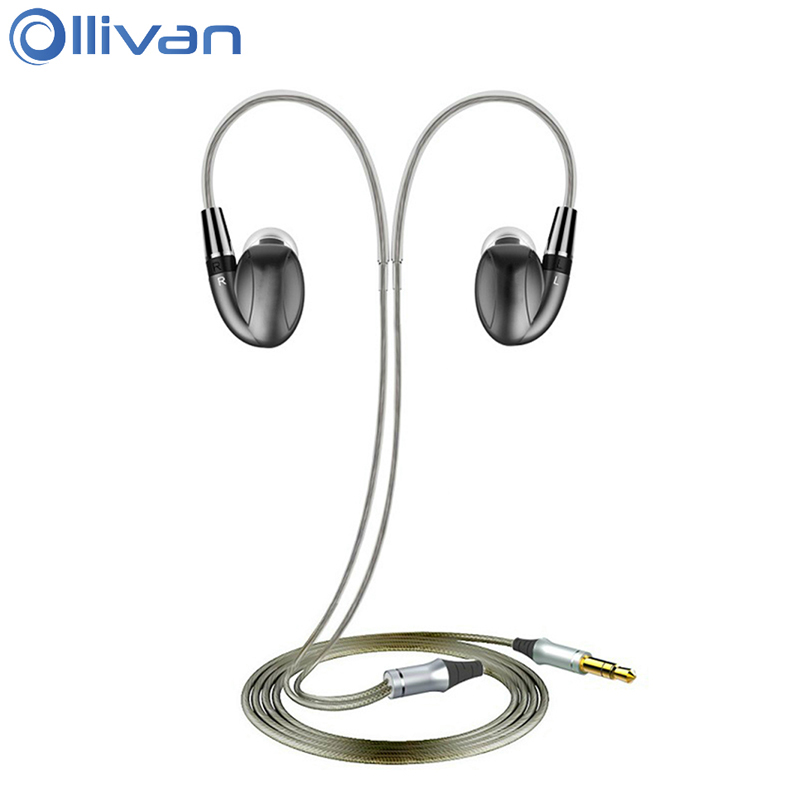 Ollivan K3 Pro Earphone Hybrid Ear Hook Earphones Dynamic 3 Units HIFI Headphones With MMCX Interface Headset Sports Auriculares