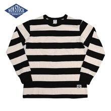 비 주식 교도소 스트 라이프 긴 소매 티 셔츠 슬림 피트 망 오토바이 티셔츠