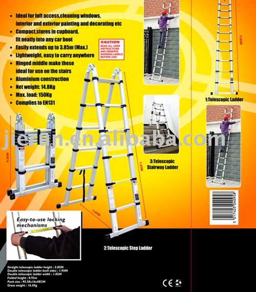 US $189 47  MULTI PURPOSE TELESCOPIC LADDER:ALDI,METRO,TESCO,SAINT  GOBAIN,WURTH BUY LADDERS FROM US )-in Ladders from Tools on Aliexpress com   