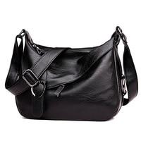 Genuine Leather Casual Bags For Women Crossbody Messenger Bags High Quality Designer Women Bag Shoulder Bag