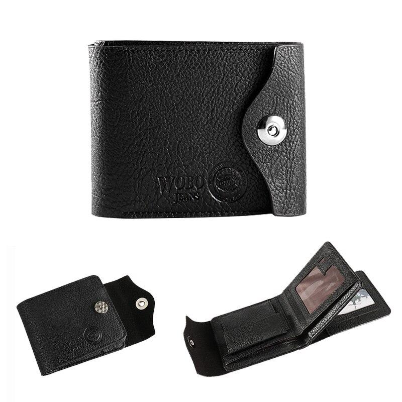 Чоловіки Hasp гаманець шкіряний - Гаманці та портмоне - фото 6