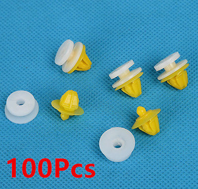 100x for Land Rover Discovery 3 4 Range Rover Sport Door Moulding Wheel Arch Clips