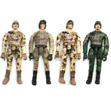 4Pcs Ornament Gift Model Soldier Decoratie Simuleren Pop Speelgoed Kids RC Auto Onderdelen Militaire WPL Multi-Joint Beweegbare action Figure(China)