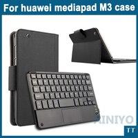 Bluetooth Keyboard Case For Huawei Mediapad M3 BTV W09 BTV DL09 8 4 Tablet Wireless Bluetooth
