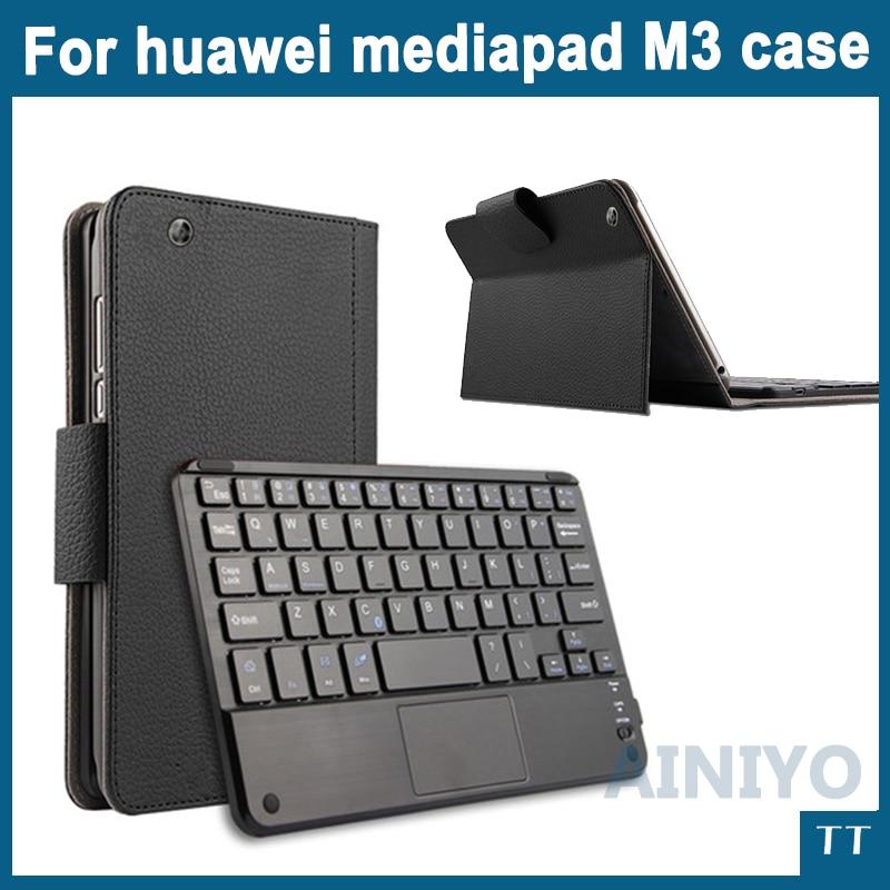 Bluetooth Keyboard Case For huawei mediapad M3 BTV-W09 BTV-DL09 8.4