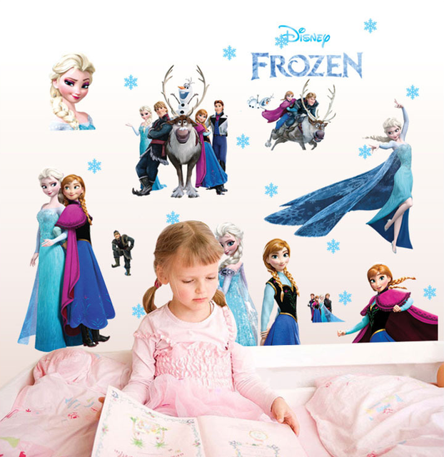 Ice and snow odd stickers decorative wall stickers can