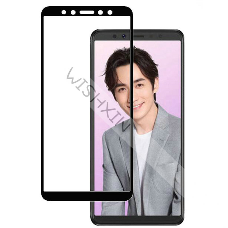 Full Glue Tempered Glass For <font><b>Lenovo</b></font> <font><b>K5</b></font> <font><b>Pro</b></font> <font><b>L38041</b></font> Full Cover 9H Explosion-proof Screen Protector film For <font><b>Lenovo</b></font> <font><b>K5</b></font> Play image