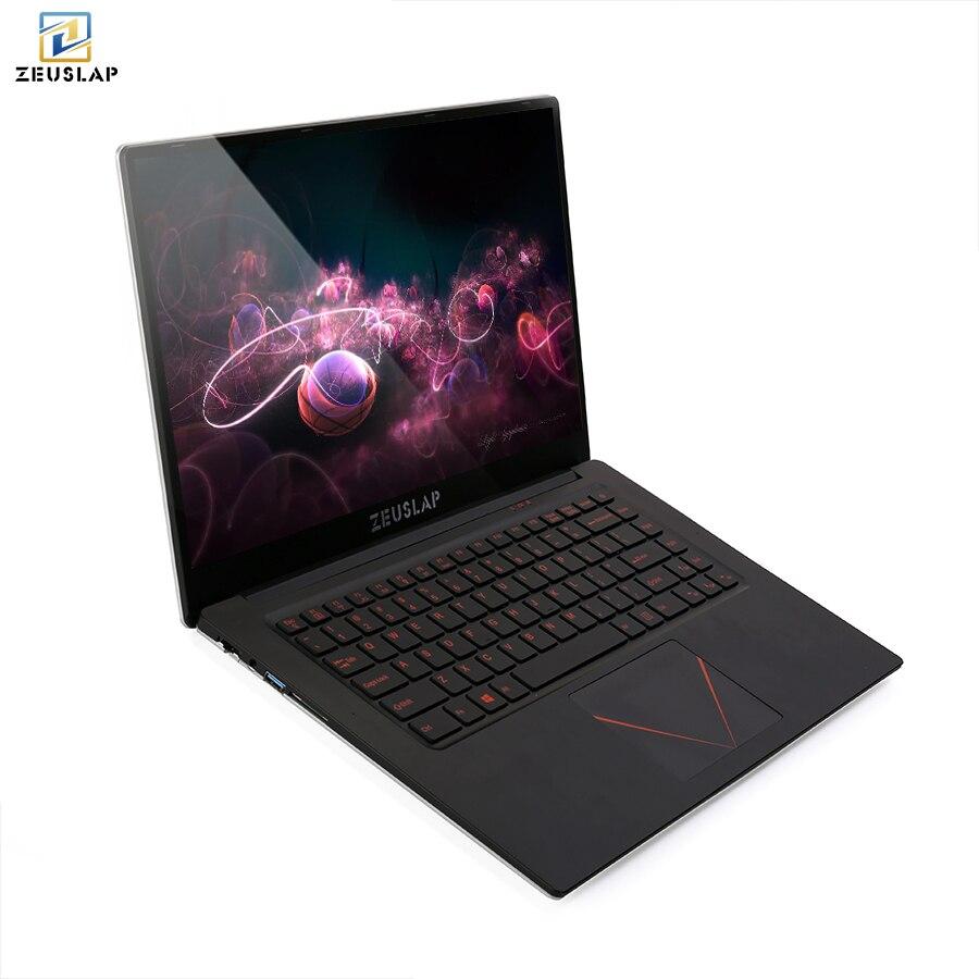 ZEUSLAP New 15.6inch 6gb ram 128gb ssd 1920*108P IPS Screen Intel Celeron cheap Netbook No
