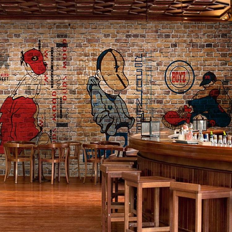 Popular red bricks buy cheap red bricks lots from china for Cheap wallpaper shops